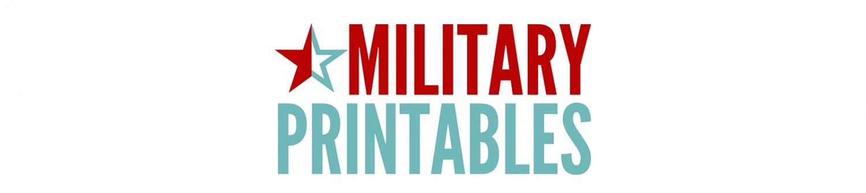 Military Printables